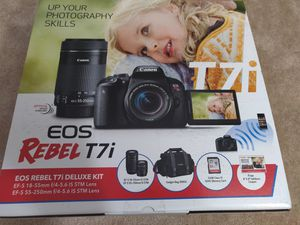 Canon T7i- Dual lense pack, Brand New Seal Pack for Sale in Rockville, MD