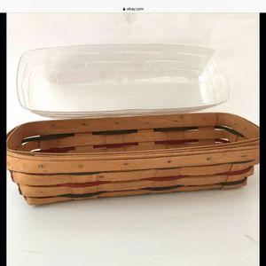 Longaberger 1995 Cracker Basket With 2 Liners for Sale in Woodbridge, VA