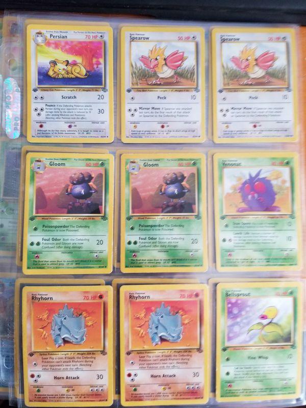 Vintage Pokemon Collection