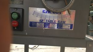 Industrial Table Saw for Sale in Lincoln Acres, CA