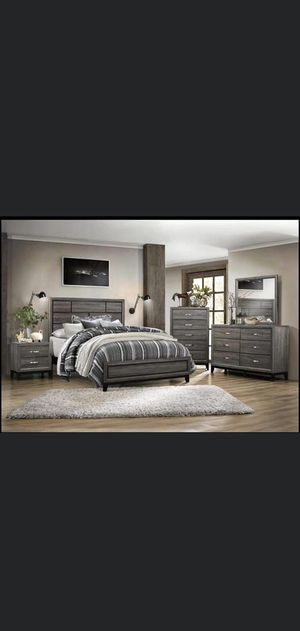 Breaks new solid wood bedroom set on sale for $799 we deliver visit us! for Sale in Queens, NY