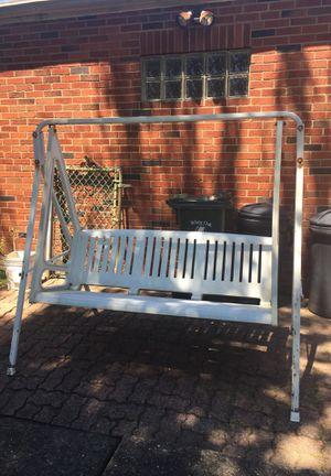 Heavy duty thick Resin plastic outdoor swing for Sale in NO HUNTINGDON, PA