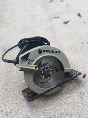 Black & Decker Circular Saw for Sale in Pembroke Pines, FL