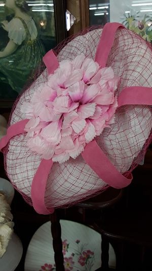 Vintage pink netted hat for Sale in Shelton, WA