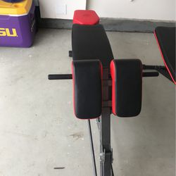 Black And Red Finer Form Decline Bench for Sale in San Bernardino,  CA