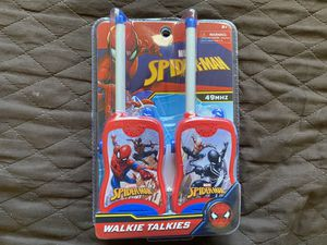 NEW Spider-Man walkie talkies $10 for Sale in Fresno, CA
