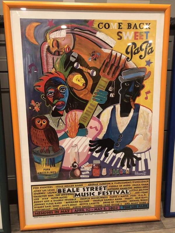 Memphis in May Beale Street music Festival posters