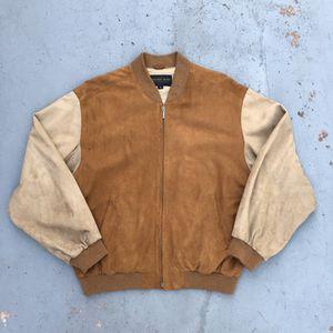 Golden Bear Two-Tone Suede Varsity Jacket (2003) for Sale in Lemon Grove, CA