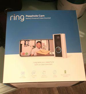Peephole ring cam for Sale in San Antonio, TX
