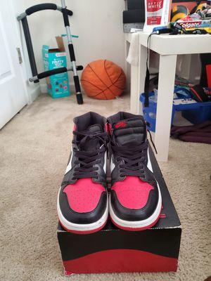 "Air Jordan 1 Retro High Og ""bred Toe"" - Air Jordan for Sale in Lawrenceville, GA"