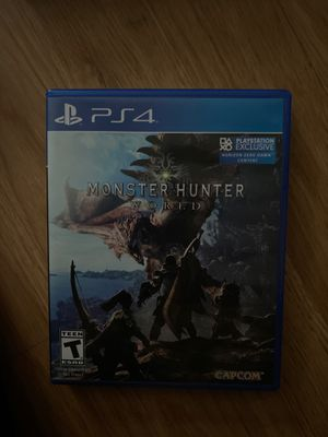 PS4 MONSTER HUNTER WORLD for Sale in Tampa, FL