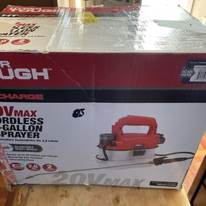 New 20v Max Cordless 1-gallon Sprayer Everything Inside Box for Sale in Los Angeles, CA