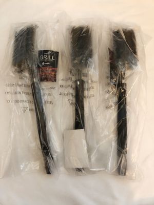 "3 pieces BBQ Safe Grill Brush with Scraper ,18"" Tools for All Grill, Best BBQ Accessorie for Sale in Riverview, FL"