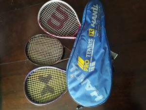 Tennis Rackets and Storage bag for Sale in Fontana, CA