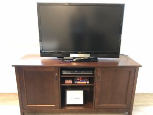 Crate & Barrel Hutch / Side Table / Media Console for Sale in Seattle, WA