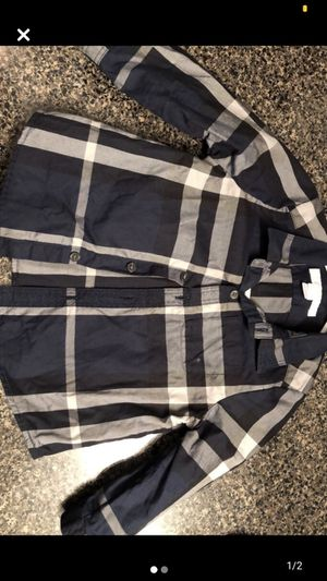 Burberry long sleeve. Size 9 months for Sale in Toms River, NJ