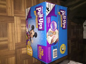 Huggies pull-ups selling them for $30 each only!! i have all the sizes! for Sale in Las Vegas, NV