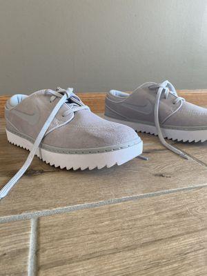 Janoski grey and white Nikes for Sale in Wichita, KS