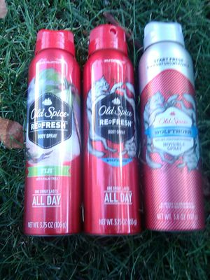 Old spice body spray for Sale in Phoenix, AZ