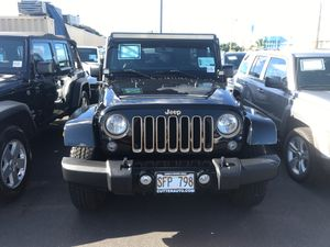 2014 Jeep Wrangler unlimited dragon edition 4D! for Sale in Honolulu, HI
