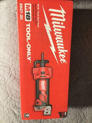 Milwaukee m18 cutout tool 2627-20 for Sale in Anaheim, CA