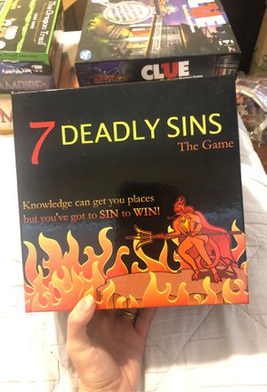 7 deadly sins board game for Sale in West Palm Beach, FL