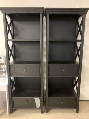 Bookshelve TV media shelve Romeos Furniture downtown Madera for Sale in Madera, CA