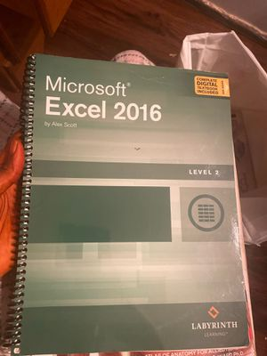 Microsoft Excel 2016 for Sale in Euless, TX