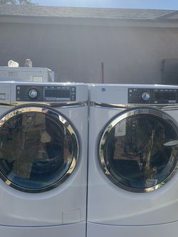 Ge Washer And Dryer Front load Set for Sale in Laveen Village,  AZ
