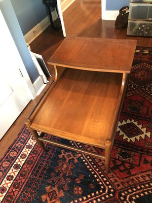 Beautiful Mid-Century Solid Walnut End Table for Sale in Philadelphia, PA