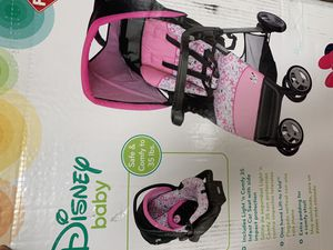 Minnie Mouse travel system for Sale in Quinlan, TX
