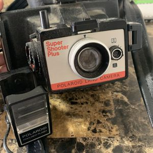 Vintage Polaroid Camera with Original Case for Sale in Tempe, AZ