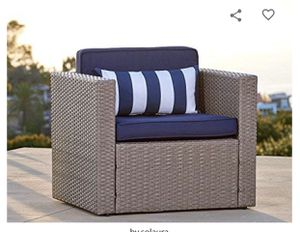 Outdoor patio set furniture 1 piece sofa waterproof for Sale in Fontana, CA