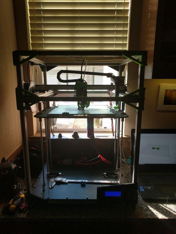 Folger T-5 3D printer. 450$ Open for trades