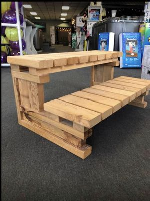 Brand new wooden steps spa trailer deck for Sale in S CHEEK, NY