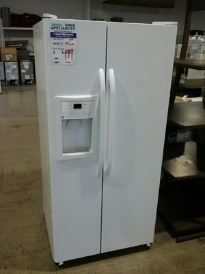 General Electric refrigerator side by side tested #Affordable82 for Sale in Denver, CO