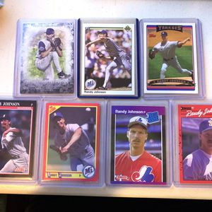 Randy Johnson baseball cards for Sale in Fullerton, CA