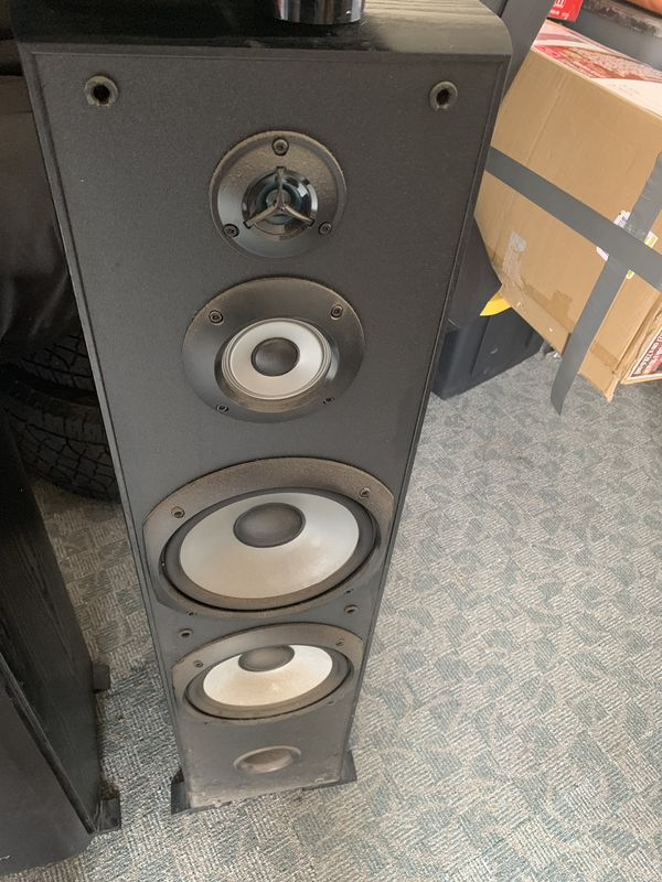 Sony tower speakers loud and work perfect