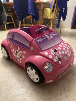 Minnie Mouse 6V Power Wheels Car/ Battery Car for Sale in Vancouver,  WA