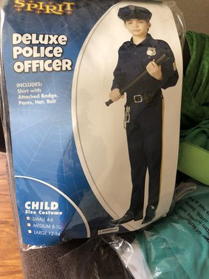 Police man costume 4 to 6 year old for Sale in Fremont, CA