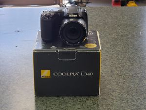 Nikon Coolpix L340 28x Zoom Digital Camera for Sale in Grove City, OH