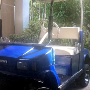 Yamaha Gas Golf Cart Lifted for Sale in West Palm Beach, FL