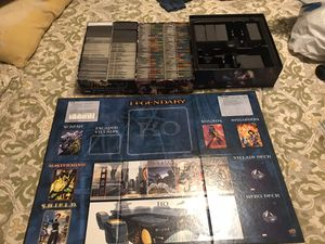 Legendary Marvel deck building board game lot for Sale in Los Angeles, CA