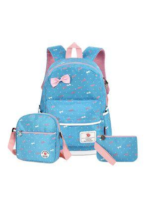 School Girls Backpack Set, Blue for Sale in Kansas City, MO