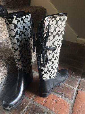 Coach Rain Boots for Sale in Nashville, TN