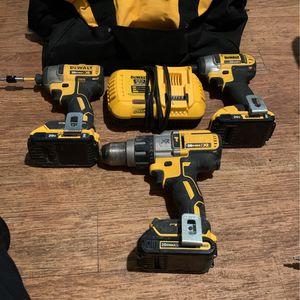 20v Max XR Dewalt Set for Sale in Houston, TX