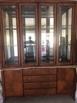 Lighted China cabinet for Sale in Tempe, AZ