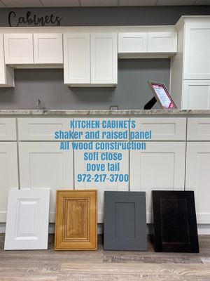 Kitchen cabinets shaker cabinet for Sale in Grand Prairie, TX