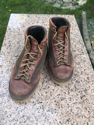 Danner Leather Lace Up Hiking Boots with Light Weight Vibram Sole Men's Size 7 ⚡️🥾 for Sale in Portland, OR