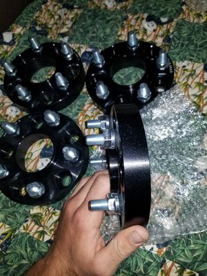 """1"""" wheel spacers 5x114.3 350z g35 ford jeep chevy for Sale in El Cajon, CA"""